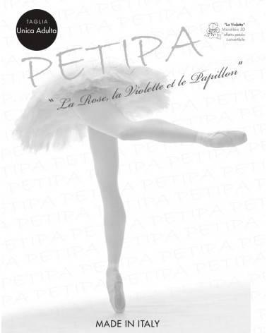Calze professionali convertibili per danza Petipa 3D