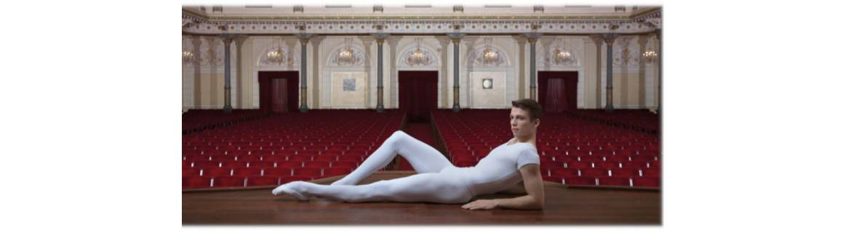 Uomo danza-tute-body-intimo-pantaloni-t-shirt