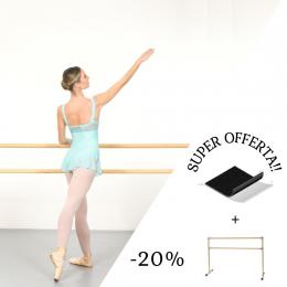 𝐒𝐔𝐏𝐄𝐑 𝐎𝐅𝐅𝐄𝐑𝐓𝐀!  •Tappeto danza 2x2 mt + sbarra 1,5 mt €275,00 -𝟐𝟎% ➡️ €220,00  •Tappeto danza 2x2 mt + sbarra 2 mt  €285,00 -𝟐𝟎% ➡️ €228,00   •Sbarra professionale 1,5 mt  €195,00 -𝟏𝟓% ➡️ €165,00  •Sbarra professionale 2 mt  €205,00 -𝟏𝟓% ➡️ €175,00  •Tappeto danza professionale 2x1 mt  €40,00 -𝟏𝟓% ➡️ €35,00